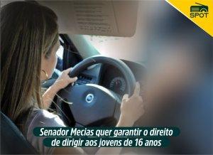 Spot - Permissão para dirigir a partir dos 16 anos